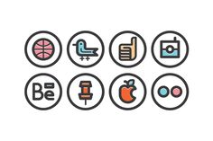 Miscellaneous Icons on Behance