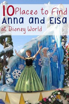 Visiting Walt Disney World in search of Frozen? Where to find all things Anna and Elsa in the parks and beyond.