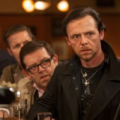 These two are one of the best comedic pairings of all time! The Cooler Movie, Beloved Movie, Light Writing, Simon Pegg, The Three Musketeers, Gary Oldman, Great Films, World Star, Comedy Movies