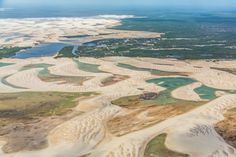 Lençóis Maranhenses - Maranhão - Brasil  (via Embratur)