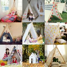 children hovel - a lot of ideas on the link!