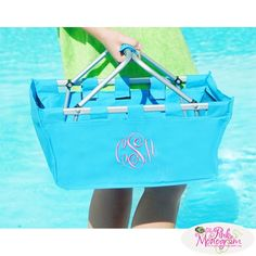 Monogrammed Market Totes In New Colors!!