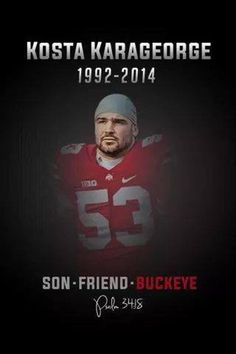 Fallen Buckeye :( May he RIP Still gives me goosebumps.  What a tragedy.