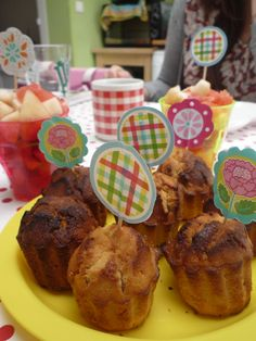 Muffins ricotta-citron-cannelle
