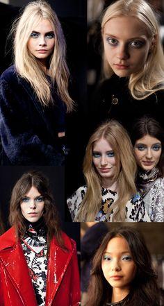 Topshop Unique Showspace AW13 Fashion News, Latest Fashion, Fashion Show, Topshop Unique, Backstage, Beast, Culture, Model, Blog