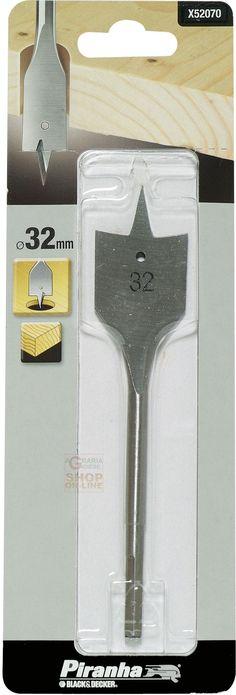 PIRANHA X52070 PUNTA PER LEGNO A TESTA PIATTA MM. 32 http://www.decariashop.it/accessori-per-elettroutensili/20734-piranha-x52070-punta-per-legno-a-testa-piatta-mm-32.html