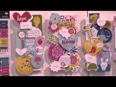 Illustrated Faith Accessories by Bella Blvd - CHA Winter 2016 Video