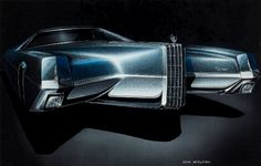 1965 Cadillac Exterior Design Proposal by Don McElfish