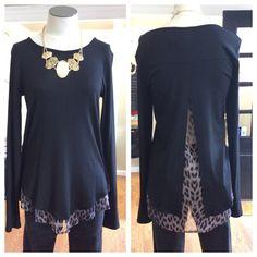 Leopard Shirttail Top | JAX Boutique