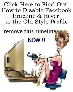 Are You Fed Up With Facebook Timeline yet like this person? lol http://fiverr.com/chivvy/show-you-how-to-disable-facebook-timeline-and-get-the-old-style-profile-back
