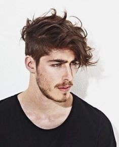 Tousled Aspirations Lizs Haircut Pinterest Long Hair Mens The Most Incredible and Beautiful mens messy hairstyle tousled top and short sides with regard to Warm