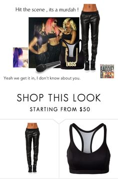 """""""On Tour With OMG . *.^"""" by rheini ❤ liked on Polyvore featuring BLANKNYC and Champion"""