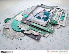 Tutorial Tuesday with Tatiana! – Kaisercraft Official Blog Glitter Cardstock, Photo Tutorial, Mini Books, Christmas Photos, Clear Stamps, Project Life, Flourish, Card Stock, To My Daughter