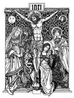 Crucifixion by Matthew Alderman