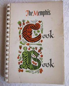 The Memphis Cook Book Junior League of Memphis TN 1964 PB Spiral
