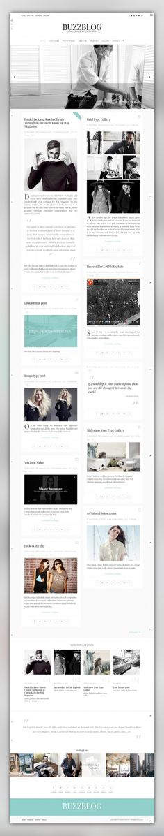 BuzzBlog - Clean and Personal WordPress Blog Theme awesome, beautiful, blog, clean, design, facebook, flickr, instagram, minimalist, personal, simple, twitter, widget BuzzBlog - Clean & Personal WordPress Blog Theme 60+ home page variations, unlimited styles support, header styler, 5 built-in header layouts, 4 posts layouts, 9 custom page templates, built in categorized image gallery with 2, 3, 4 columns and integrated lightbox, 9 custom widg...