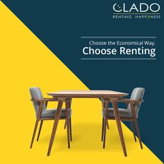 Make your MOVE easy with CLADO. http://www.clado.in/furniture ☎ +91-81 30 598959, +91-81 30 598979 #rent #furniture #easywayhappy #clado