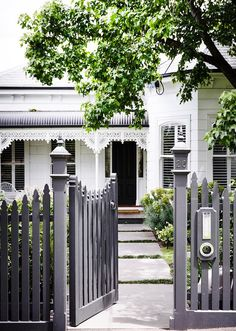 A gorgeous front garden that extends beyond your front fence can add value and sociability to your home.