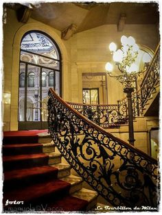 Gallerie d'Italia Milan, Stairs, Home Decor, Italia, Stairway, Decoration Home, Room Decor, Staircases, Home Interior Design