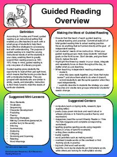 """Guided Reading ....Follow for Free """"too-neat-not-to-keep"""" teaching tools & other fun stuff :)"""