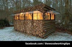 Need some focus, How about building a little log office away from the house