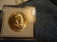 1954-S //  BU // Franklin Half Dollar // M-1123