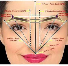 Makeup Tips Eyeshadow, Eyebrow Makeup Tips, Eyebrow Tinting, Permanent Makeup Eyebrows, Eye Makeup Steps, Contour Makeup, Skin Makeup, Beauty Makeup, Maquillage Yeux Cut Crease