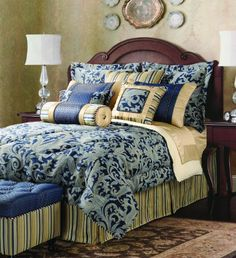 Jennifer Taylor Hampton 4Piece Comforter Set King >>> Read more reviews of the product by visiting the link on the image.