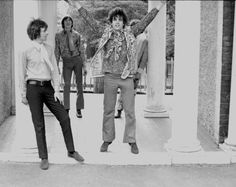 1967 Apr, In Ruskin Park Gardens, London - by Colin Prime