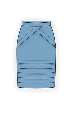 Model 4632 | Suknje | Krojevi za suknje | Krojačica.net