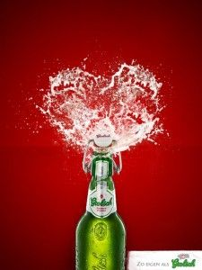 valentine beer commercial