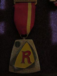 My Husband's Swiss medal