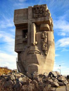 The Mask of Sorrow near Magadan, Russia!