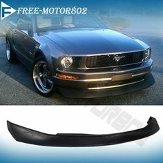 This is retro look chin spoiler announced for V6 and goes for a bit less than $100 but same looking one on AmericanMuscle claimed to work with GT V8 and cost 200 dollars more. Is it good? Has to be test fit in order to say yes or no with other mods. Fashion Cv, Retro Look, Ford Mustang, Convertible, Lips, Fitness, Ebay, Style, Ford Mustangs