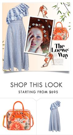 """""""spring is coming..."""" by adnans ❤ liked on Polyvore featuring Loewe, Balenciaga, Gül Hürgel and Jimmy Choo"""