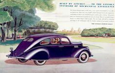 1937 Lincoln Zephyr V-12 Folder