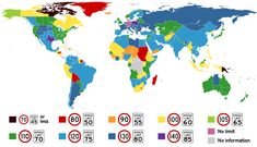 Speed limits by country