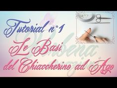 Chiacchierino ad Ago: TUTORIAL 01 - Le Basi - needle tatting for beginners - YouTube