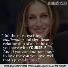 Sex and the city quotes relationship