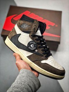 super popular f35ba 3d4b0 Travis Scott, Jordan 1, Nike Air Jordans, High Top Sneakers