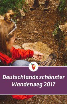 In Deutschland gibt es viele tolle Wanderwege und Anfang 2017 wurden acht verschiedene Routen getestet. Ein Wanderweg hat gewonnen und so viel können wir schon mal verraten – er geht über die Geierlay Hängebrücke. Alle Infos gibt es via Urlaubspiraten.de #wandern #deutschland #urlaub