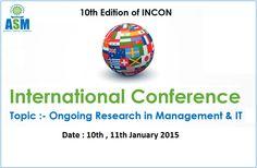 ASM's #INCON2015