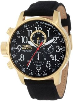 "Invicta Men's 1515 I ""Force Collection"" 18k Gold Ion-Plated Stainless Steel and Black Cloth Watch Invicta,http://www.amazon.com/dp/B005FMZY36/ref=cm_sw_r_pi_dp_nuEEsb0T8EC72TAE"