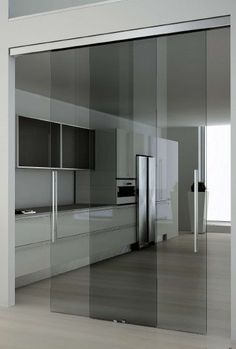& & & & Sliding glass door with two doors guide and view Sliding Barn Door Hardware, Sliding Glass Door, Restaurant Interior Design, Interior Design Living Room, Küchen Design, Door Design, Kitchen Glass Doors, Home Room Design, House Design