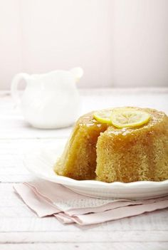 Lemon and honey pudding (recipe in romanian)