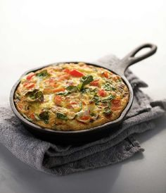 A little love goes a long way in this delicious frittata recipe. Break out the farm-fresh eggs and those organic veggies, and have yourself a true breakfast of champions.