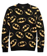 26eee5af081 Lazy Oaf X Batman Bat Logo Repeat Sweatshirt Batman Outfits