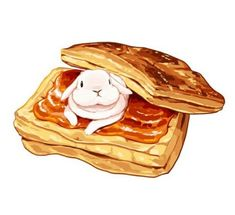 귀여운 음식일러스트 107장 : 네이버 블로그 Bunny Drawing, Bunny Art, Food Drawing, Art Kawaii, Kawaii Chibi, Cute Food Art, Cute Art, Cute Animal Drawings, Cute Drawings