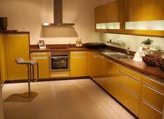Желтая кухня: летнее настроение круглый год