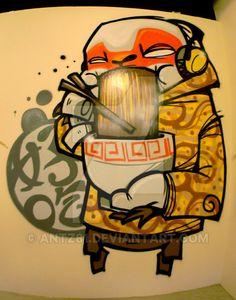 GOLDEN FAT MONKEY by antz81